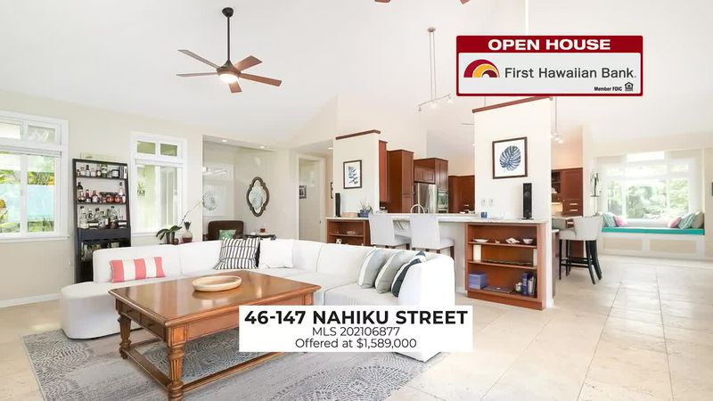 Open House: Stunning home at Alii Shores and fully furnished home in Hawaii Kai