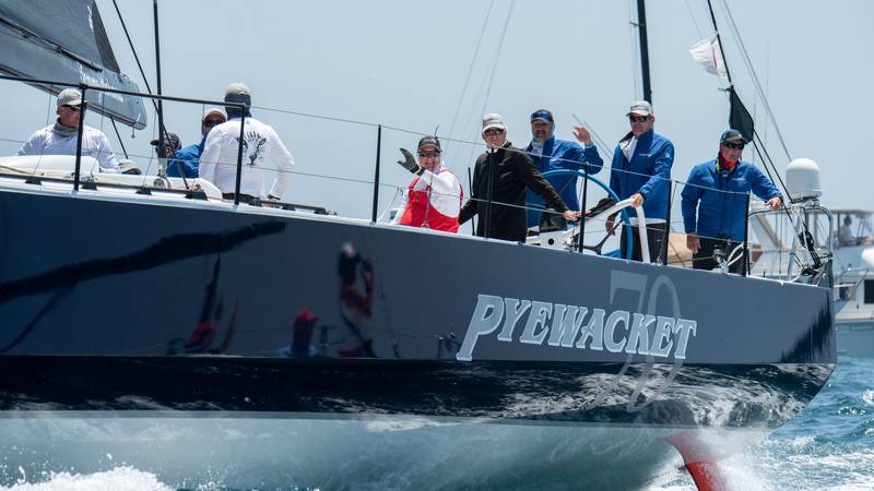 Pyewacket was the first to cross the finish line in this year's Transpac.