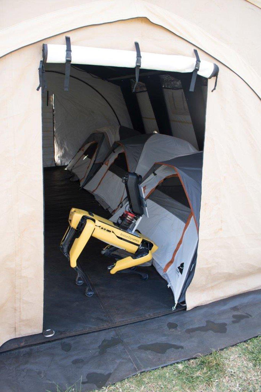 SPOT, HPD's controversial robot dog at HONU