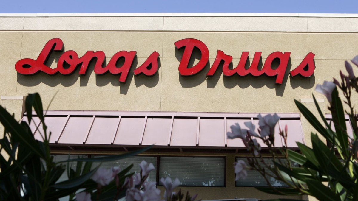A Longs Drug store in Palo Alto, Calif. is seen Tuesday, Aug. 12, 2008. Drug store chain CVS...