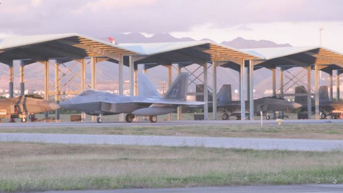 Airmen and F-22 Raptor fighter jets arrived at Joint Base Pearl Harbor-Hickam over the weekend.