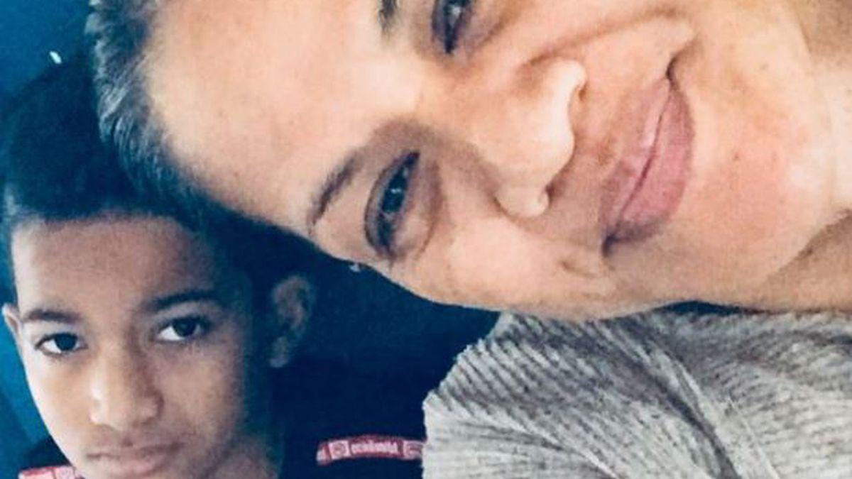 American Samoa resident Brigitte Moala has not seen her 11-year-old son since December.
