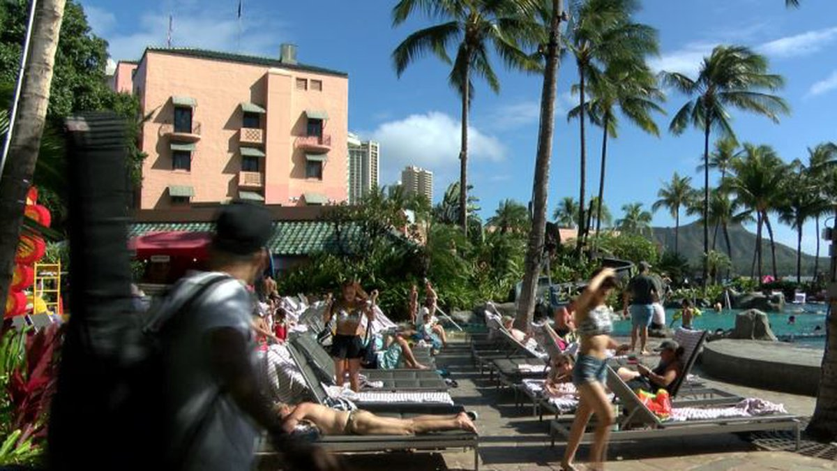 Thousands are set to converge on Waikiki for back-to-back fireworks shows to ring in the new...