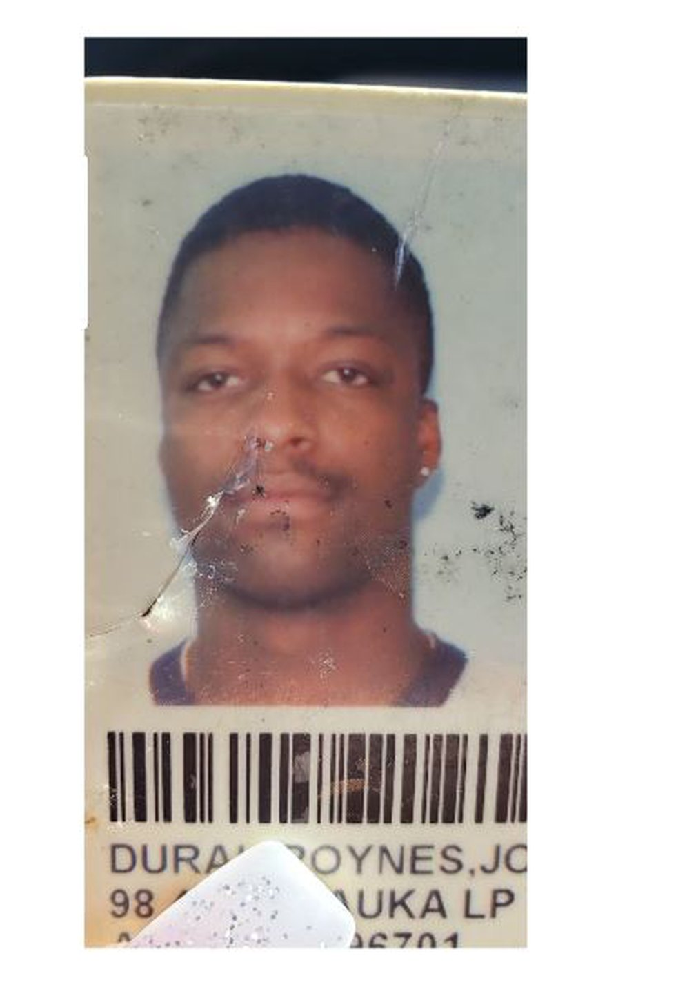 Roynes Dural at 28 years old when he wrongfully convicted of sex assault