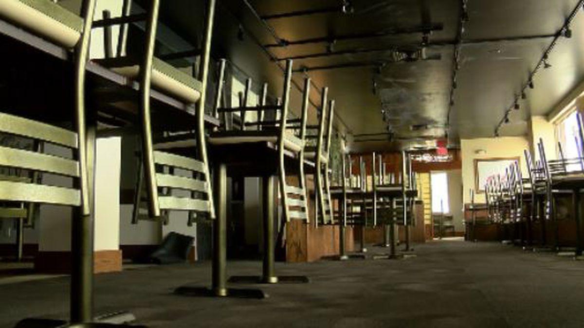 Restaurants say they're seeking government relief amid the coronavirus shutdown.