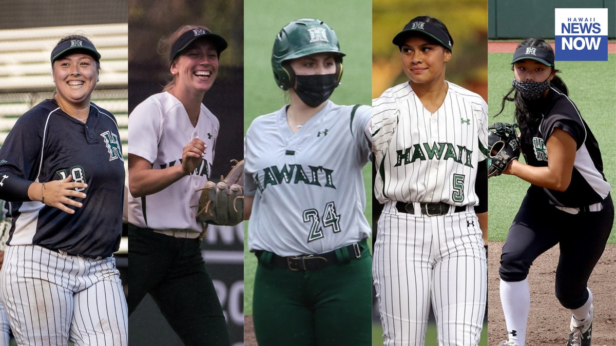 The Big West Conference released their yearly awards on Wednesday with five Rainbow Wahine...