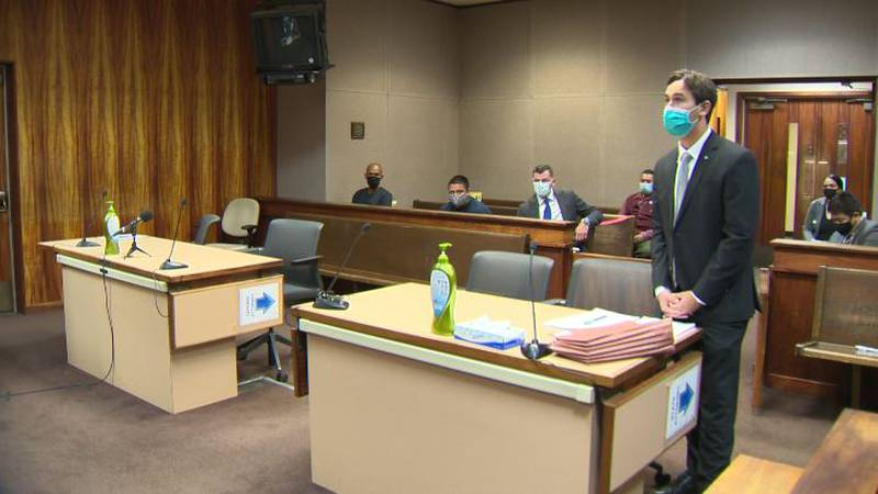 Nelson Hagmoc was supposed to be sentenced virtually Wednesday. He missed the hearing and...