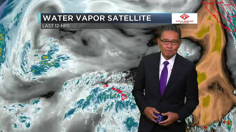 Morning Weather Forecast from Hawaii News Now - Thursday, July 22, 2021