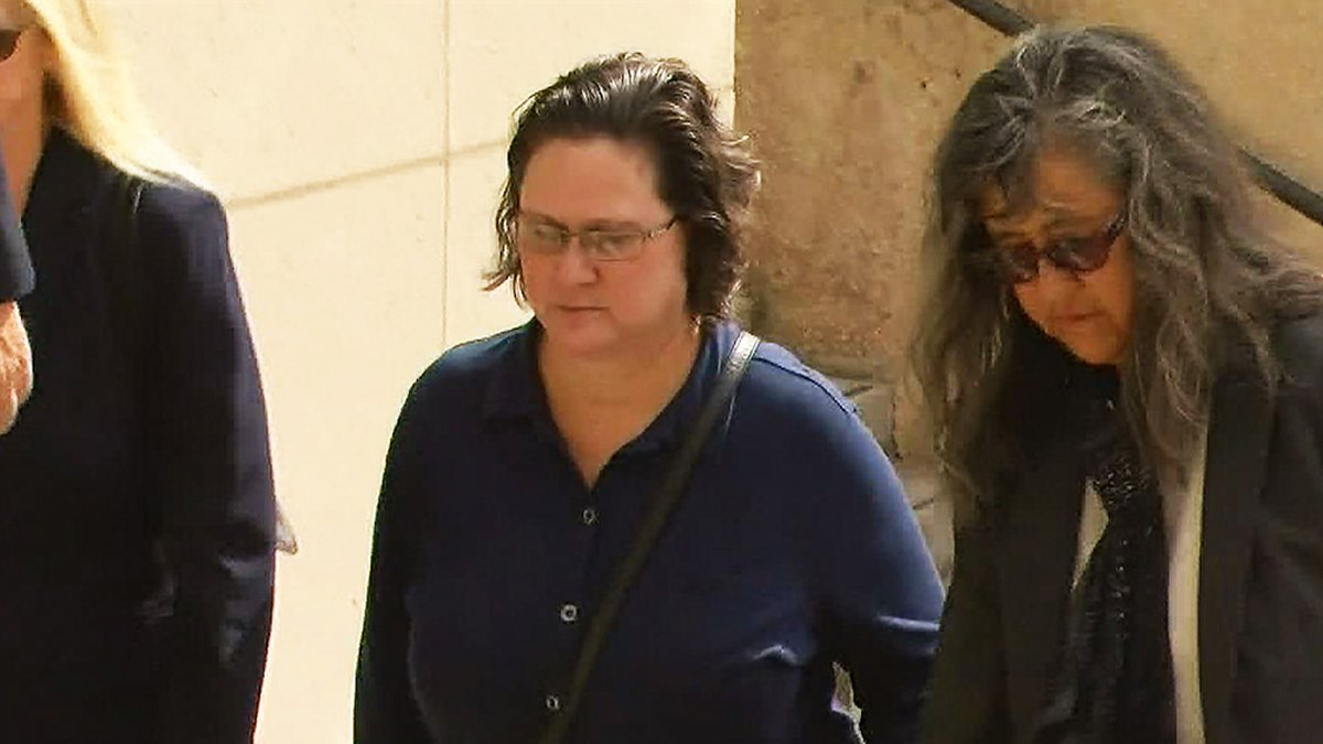 Katherine Kealoha walks into the federal courthouse without her husband Friday for a hearing....