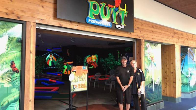 Gerry and Christel Houser owned and operated Glow Putt at Windward Mall for 17 years. They...