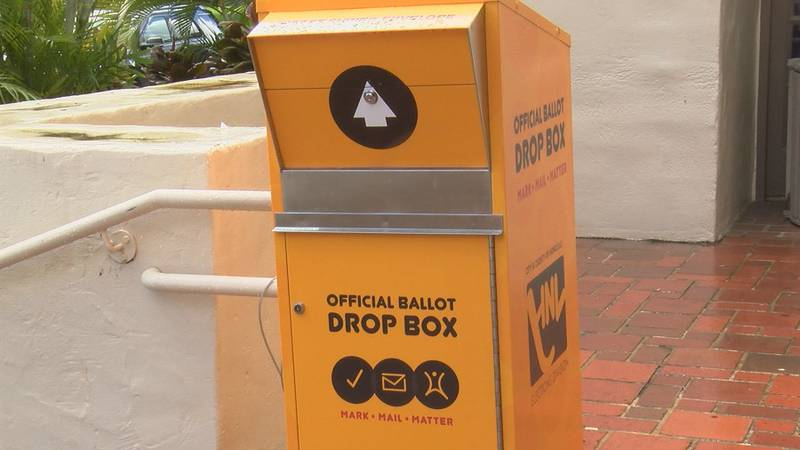 Drop boxes are available on Oahu for those who would prefer to turn in their mail-in ballots...