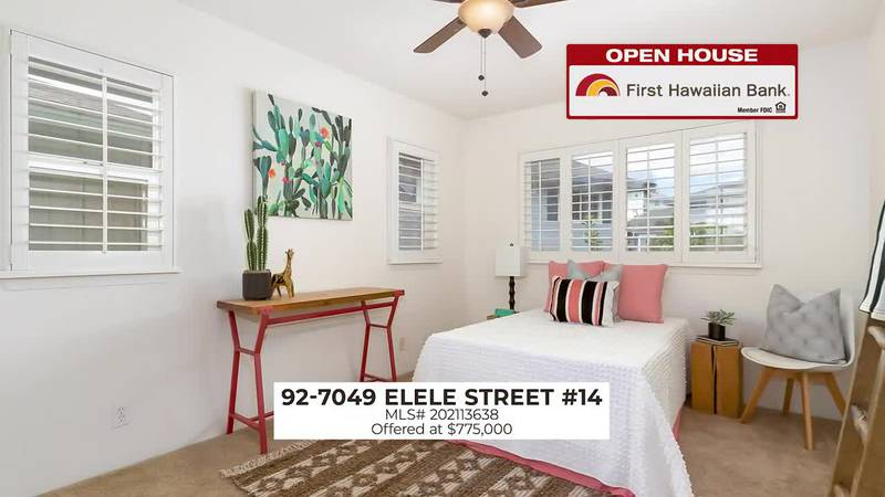 Open House: Beautiful two story family home in Kapolei and a conveniently located studio in...