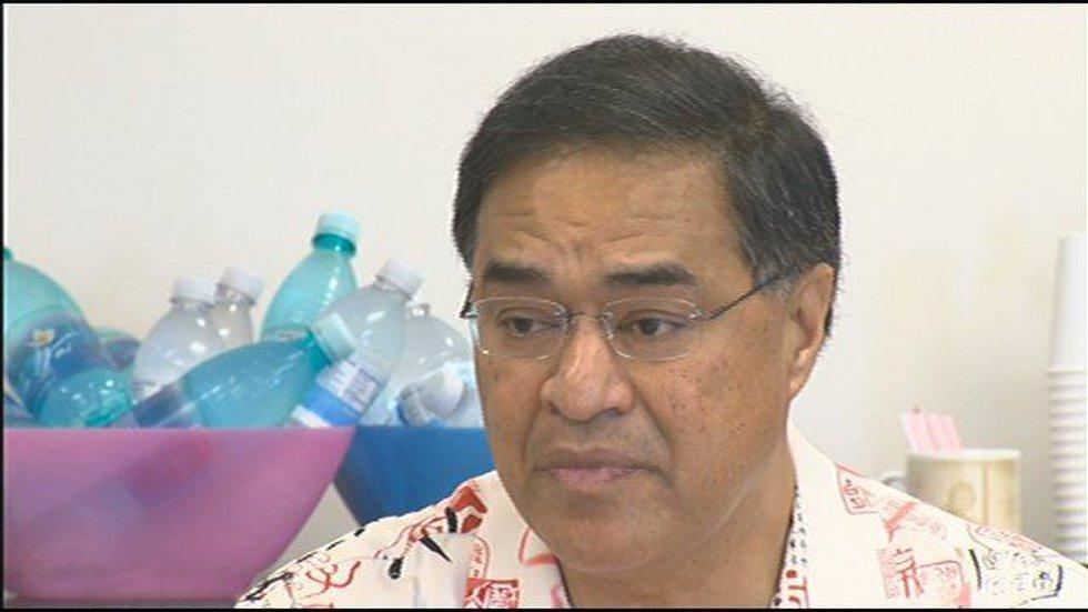 Former Honolulu Mayor Mufi Hannemann