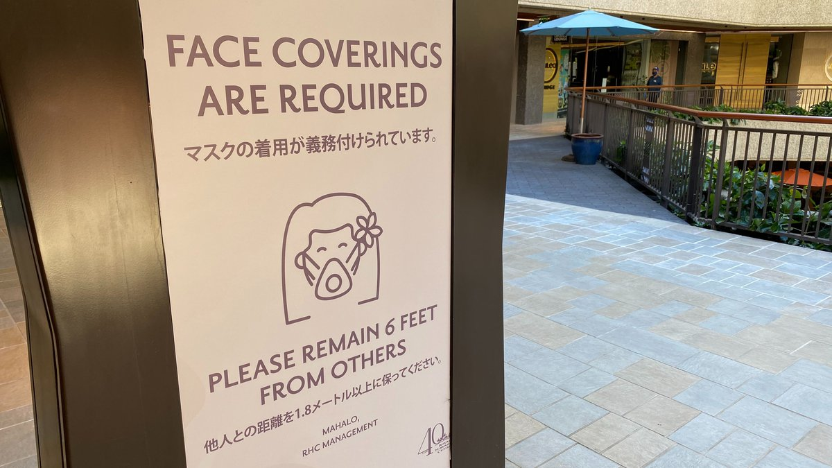 Retail businesses on Oahu were allowed to begin reopening on Friday, and many did so — with a...