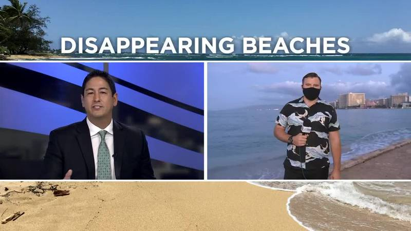 Study: 40% of Hawaii's beaches could disappear in 30 years due to sea level rise