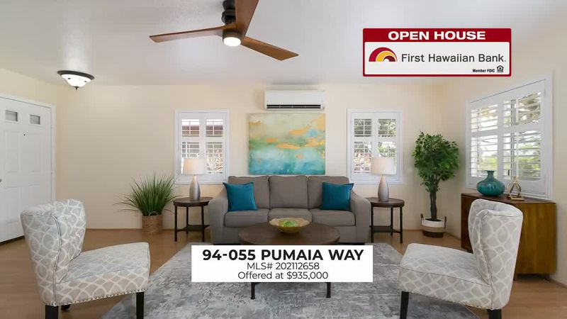 Open House: Beautiful two-story family home in Waikele and a 1 BD, 1 bathroom unit in downtown