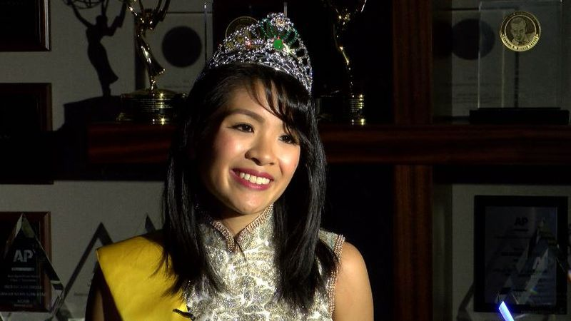 Jamie Ming See Lee spoke to Hawaii News Now a day after winning the crown.
