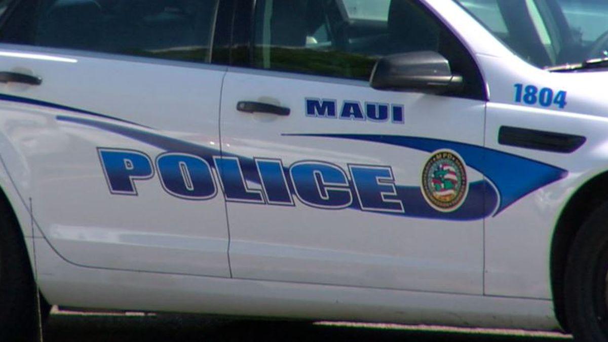 Maui Police Cruiser