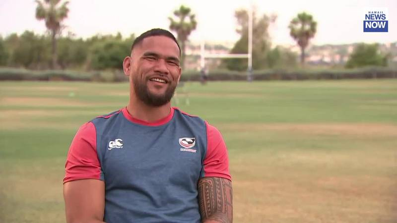 Wahiawa native Martin Iosefo looks to make second Olympic Games with USA Rugby