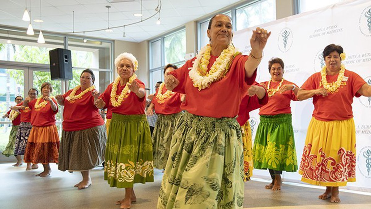A new study has found that hula can dramatically your risk for heart disease. (Image:...