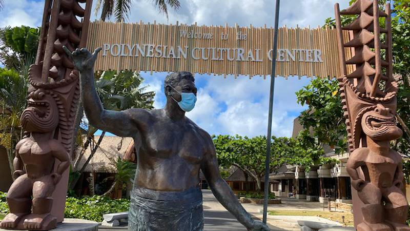 The Polynesian Cultural Center in Laie has remained closed for about four months.