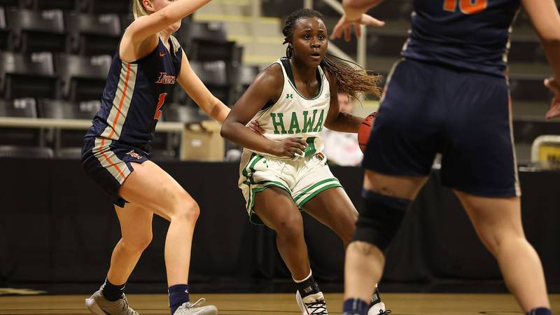 With the win the Rainbow Wahine (16-14) advanced to the tournament semifinals where they will...