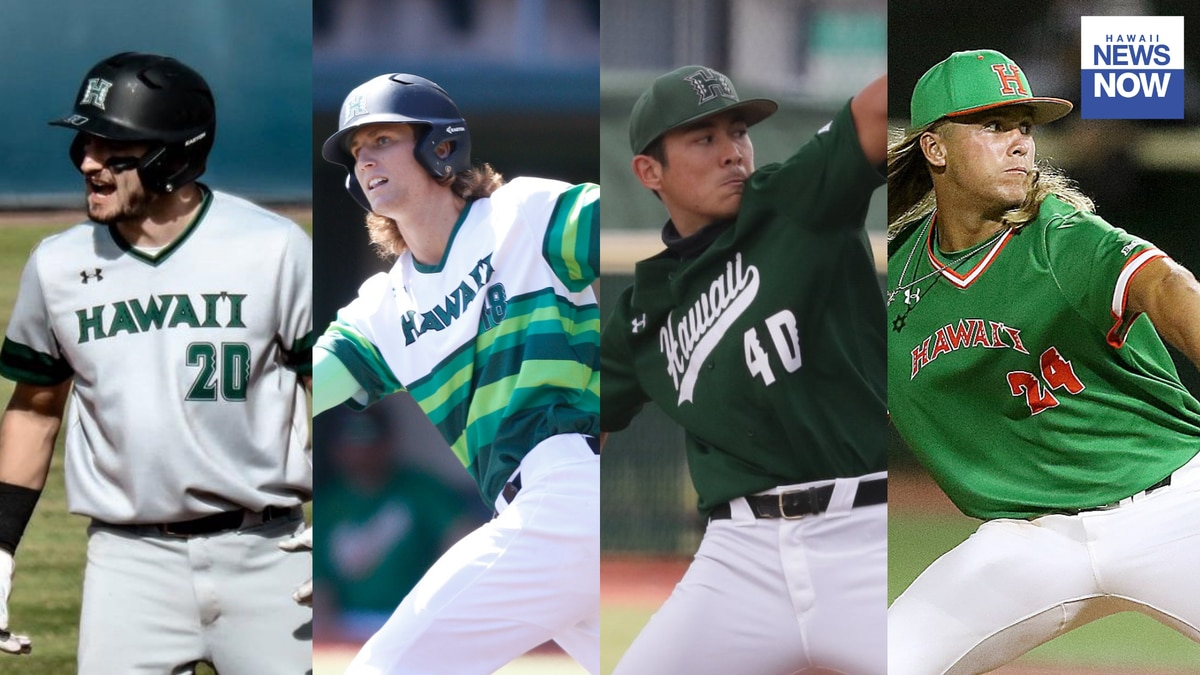The Big West Conference announced their postseason awards with four Rainbow Warriors baseball...
