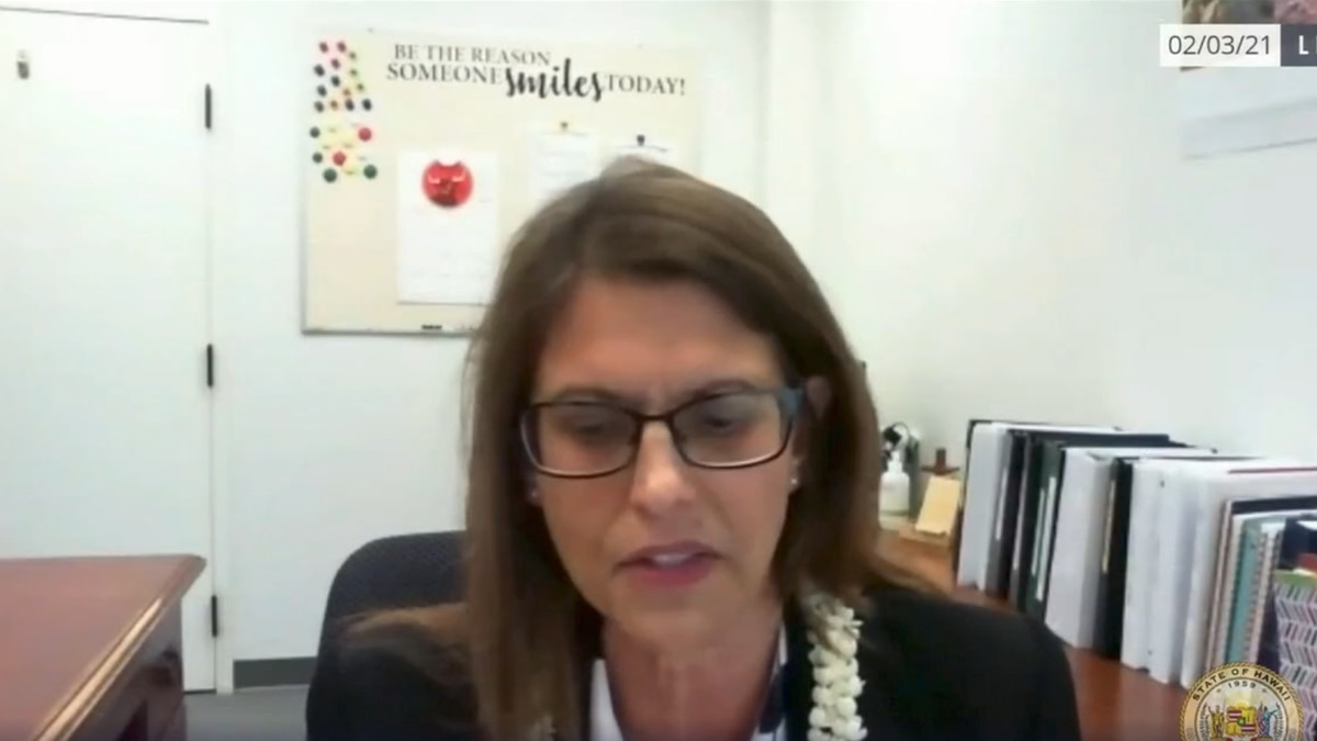 Anne Perreira Estaquio is serving as Hawaii's Acting State Labor Director.