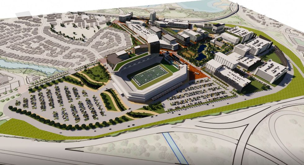 Renderings of what the new Aloha Stadium could look like have been released.