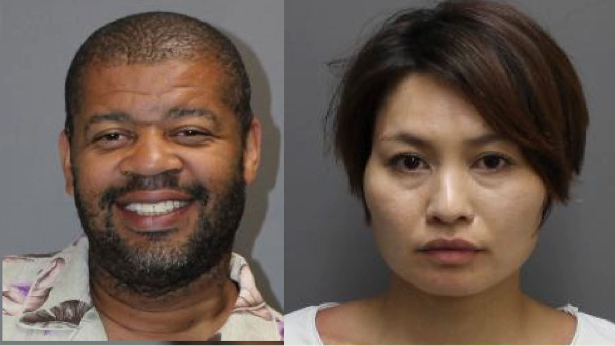 Police released the mugshots for Nagisa (right) and Darrell Dorch (left).