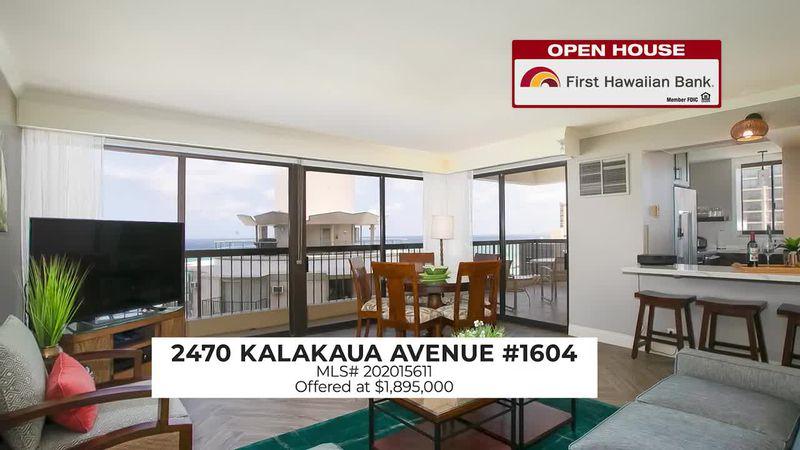 Open House: 2 BD, 2 BA unit in Waikiki and 3 BD, 1 BA in Ewa Beach