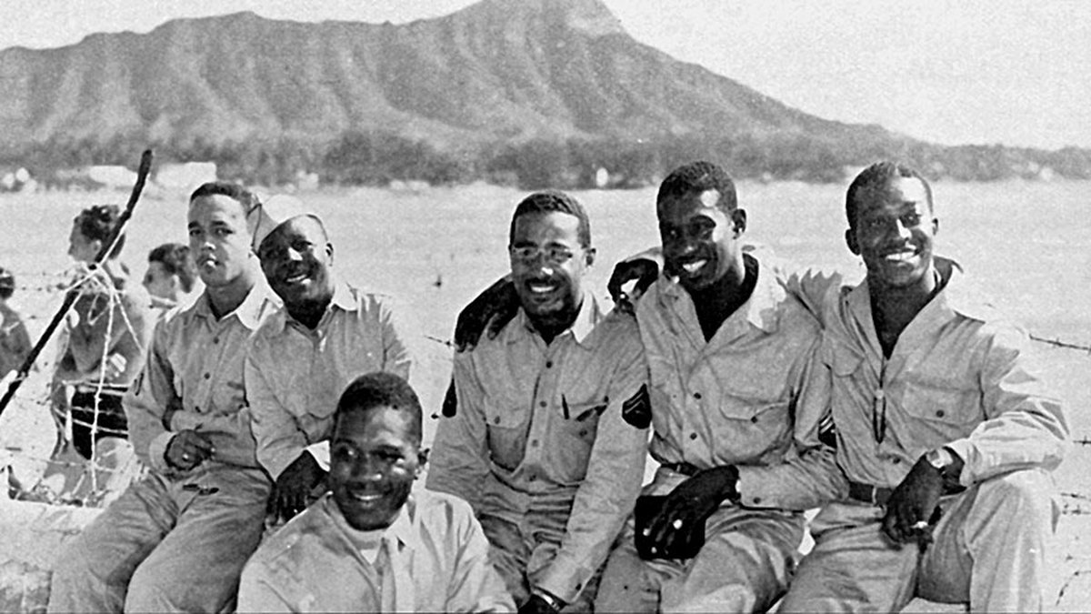 A documentary film project tells the story of the Harlem Rattlers, an all-black Army regiment...