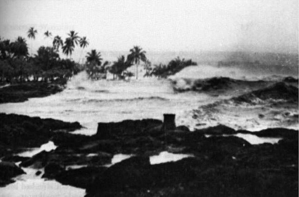 Coconut Island, Hilo in 1946. Courtesy: Ted Lusdy