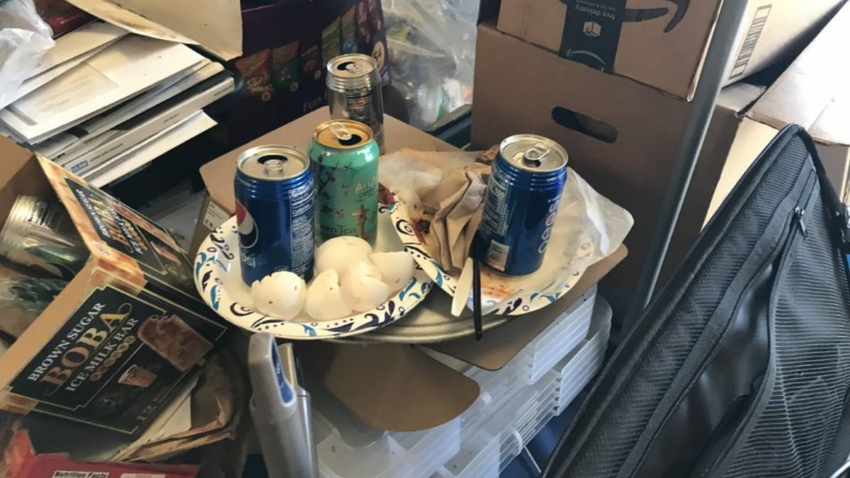 Photos provided by the Department of Health showed unsanitary conditions and significant health...