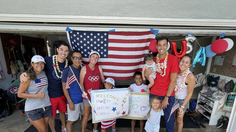 After an early exit in the 2020 Tokyo Olympics, Hawaii's Erik and Kawika Shoji returned to the...