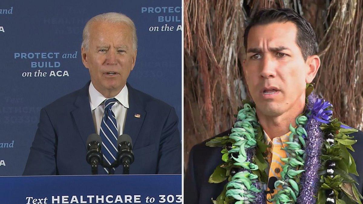Former VP Joe Biden is endorsing Kai Kahele for Congress.