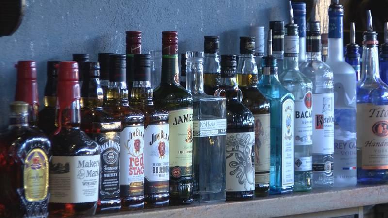 File photo of alcohol