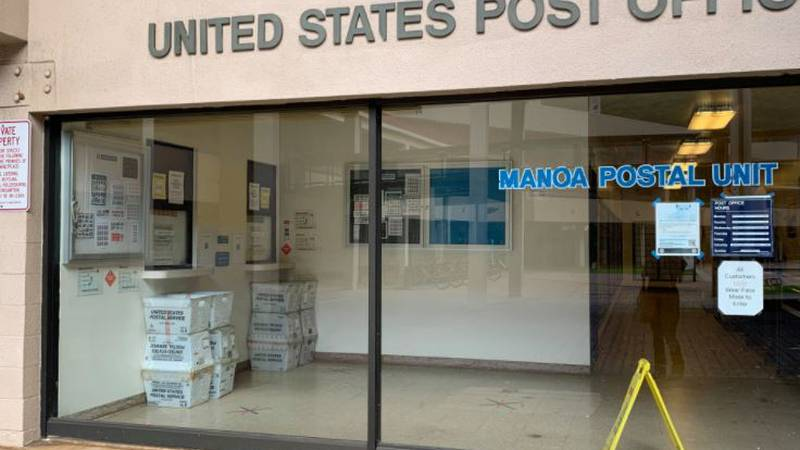 Lawmakers are pushing to keep the post office at Manoa Marketplace open.