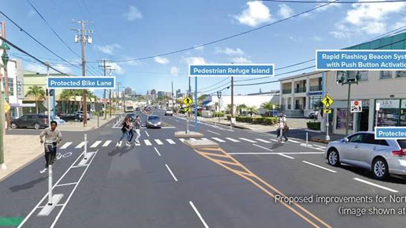 The city will host a Kalihi Complete Streets virtual meeting.