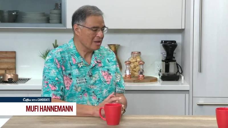 Coffee with a Candidate: Mufi Hannemann, Candidate for Honolulu Mayor