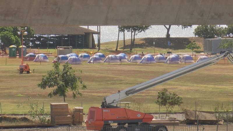 HPD's POST facility at Keehi Lagoon Beach Park.
