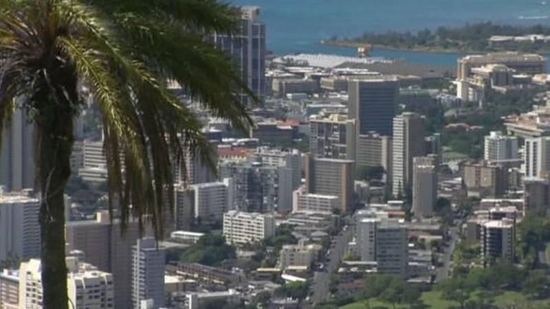 FILE/Honolulu skyline