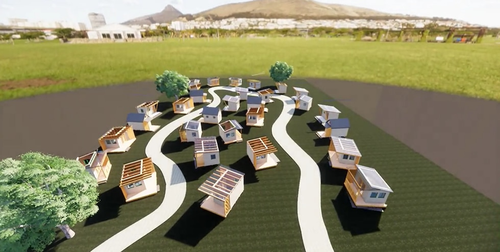 """""""For Phase 1 we are envisioning between 35 to 39 tiny homes,"""" said Nani Medeiros."""