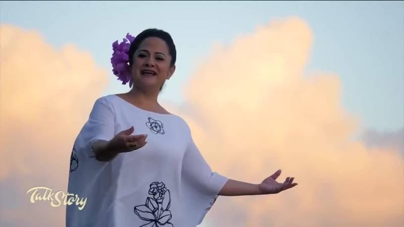 Kumu hula and multi-award-winning singer Nāpua Greig