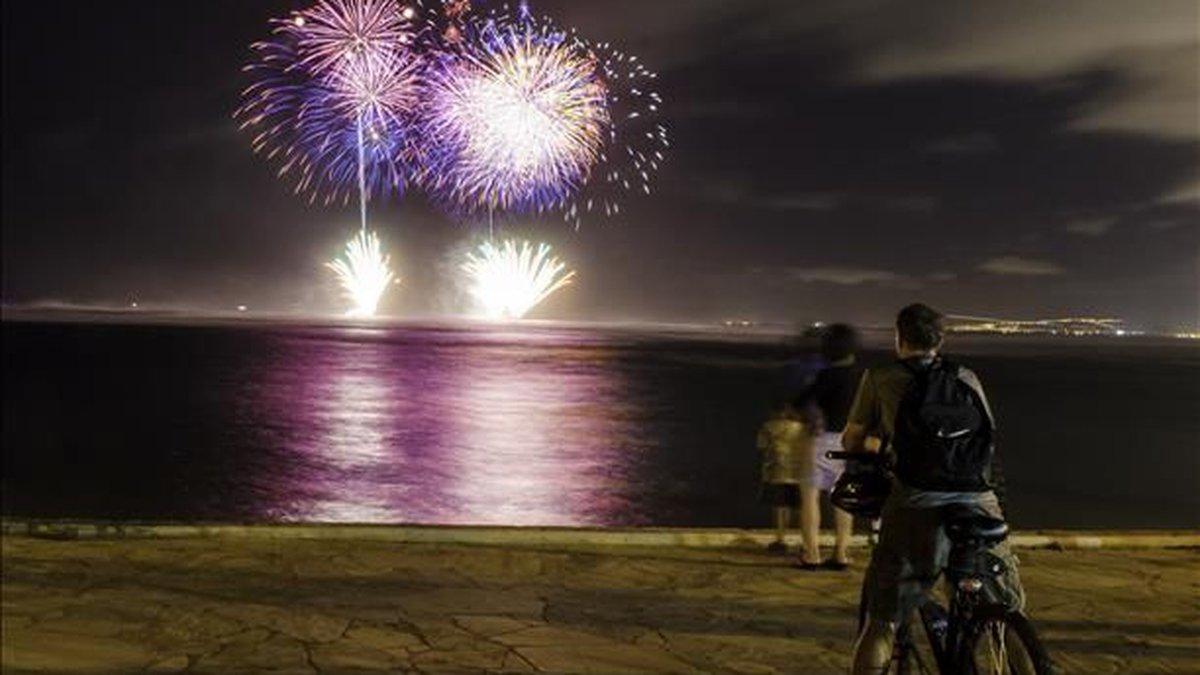 File Photo: Fireworks in Hawaii