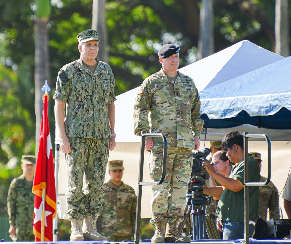 LaCamera assumed his role as General this week.