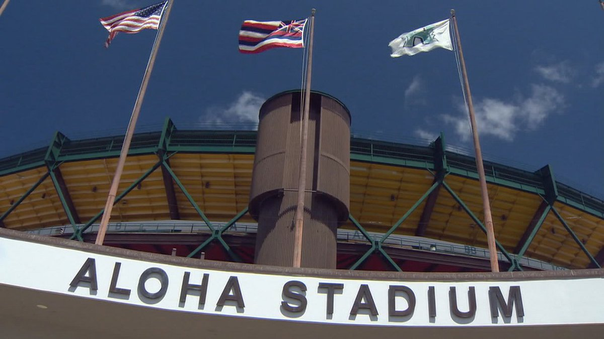File photo of the current Aloha Stadium.