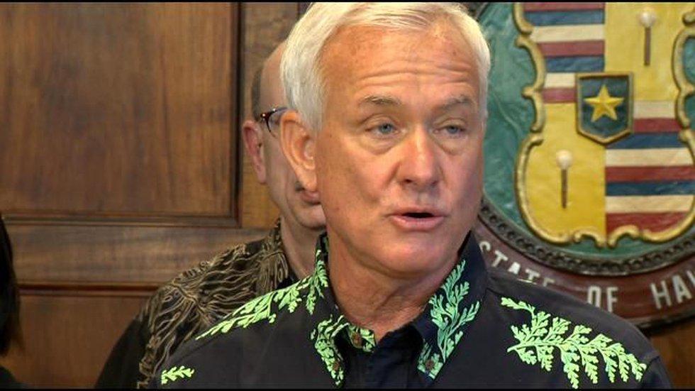 Honolulu Mayor Kirk Caldwell