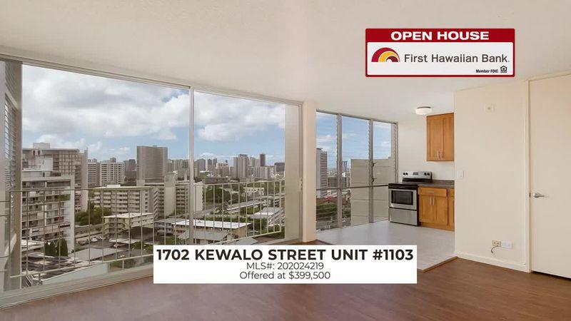 Open House: 2 BD, 2 BA in Urban Honolulu and 2 BD, 1 BA in the Heart of Makiki