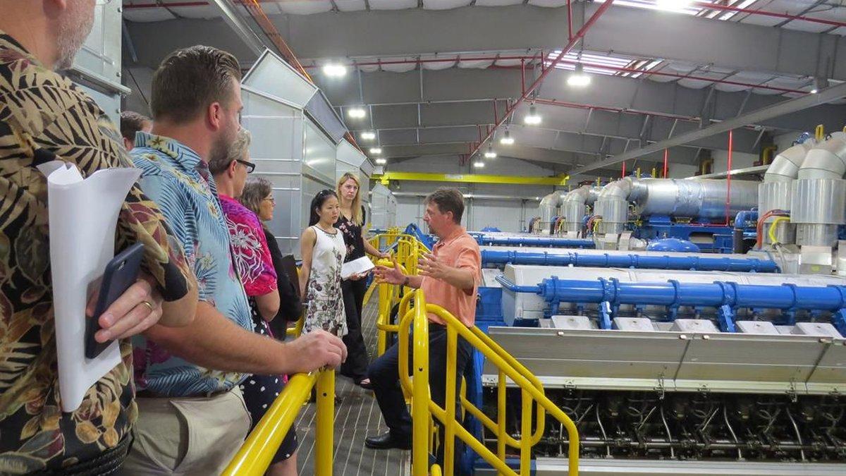 Inside the new power plant. (Image: U.S. Army Garrison-Hawaii)